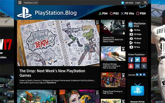 سایت blog.us.playstation.com