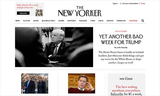 سایت thenewyorker.com