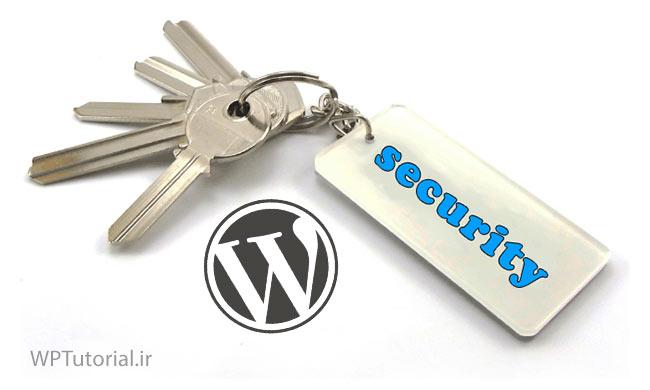 نصب کلیدهای امنیتی وردپرس