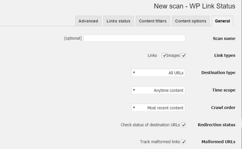 افزونه بررسی لینک های شکسته WP Broken Link Status Checker