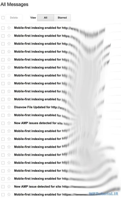هشدارهای پیاپی گوگل در مورد mobile-first indexing enabled