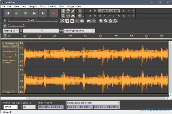 ضبط و ویرایش پادکست با نرم افزار Audacity
