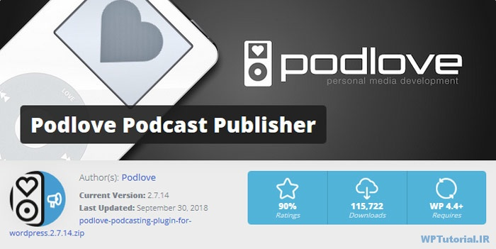 افزونه Podlove Podcast Publisher