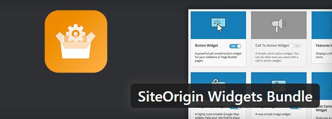 ابزارک های حرفه ای وردپرس با SiteOrigin Widgets Bundle