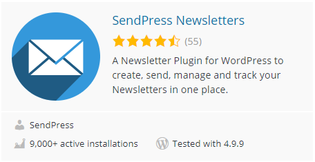 افزونه SendPress Newsletters