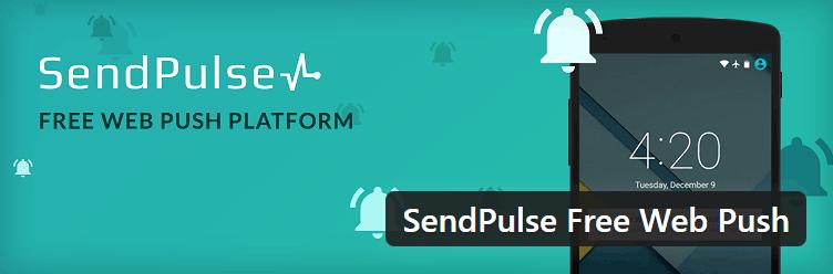ارسال نوتیفیکیشن به اعضای سایت با افزونه SendPulse
