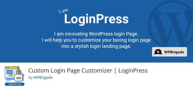 تغییر ظاهر صفحه ورود وردپرس با LoginPress