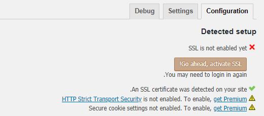پیکربندی Really Simple SSL
