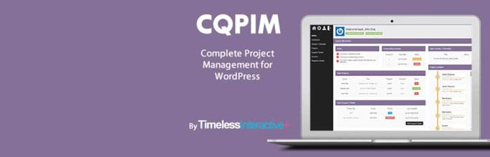 CQPIM WordPress Project Management