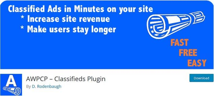 افزونه Another WordPress Classifieds Plugin