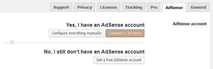 افزودن تبلیغ از حساب adSence