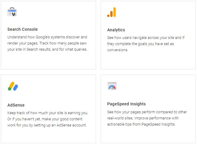 سرویسهای افزونه Site Kit by Google