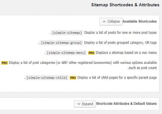 صفحه مستندات افزونه Simple Sitemap