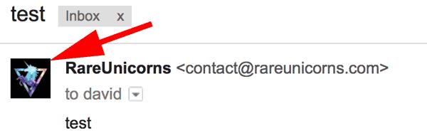 ایمیل به همراه عکس پروفایل