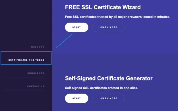 دریافت SSL رایگان از Zerossl.com