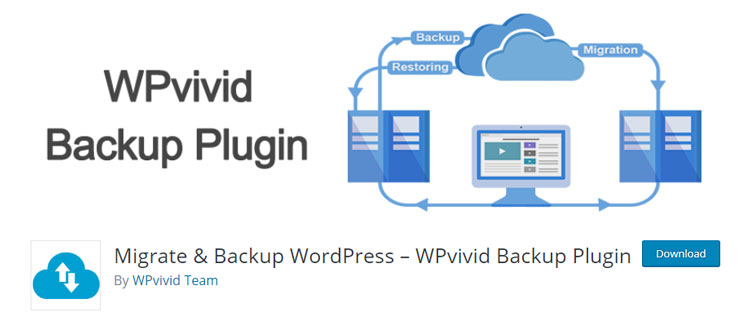 افزونه WPvivid Backup Plugin