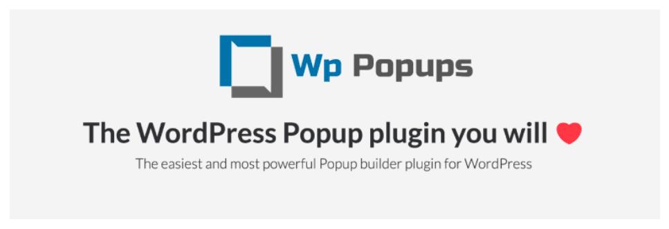WPPopups افزونه پاپ آپ برای وردپرس